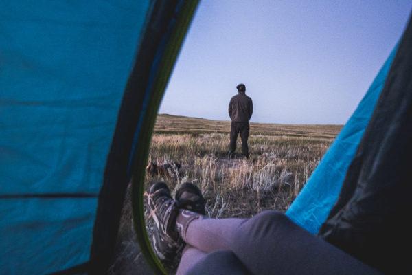 Camper Dans Le Parc National Des Prairies