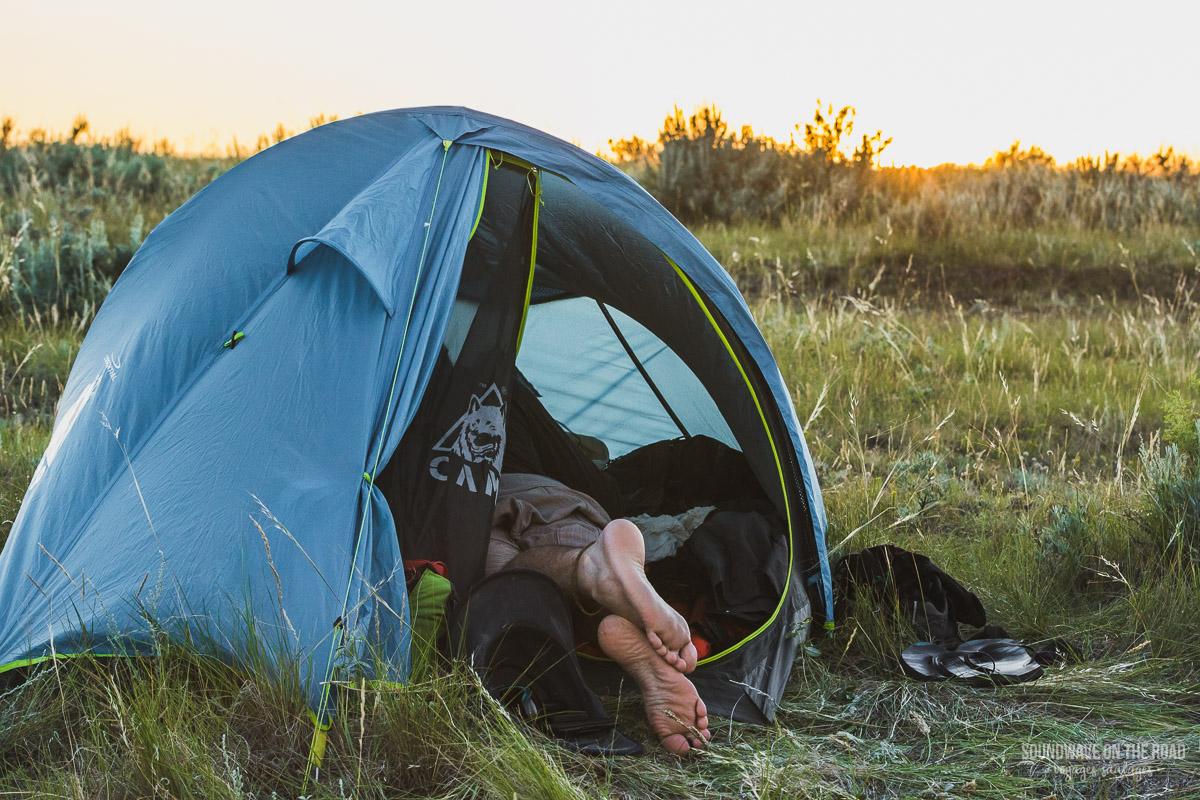 Faire du camping sauvage au Canada