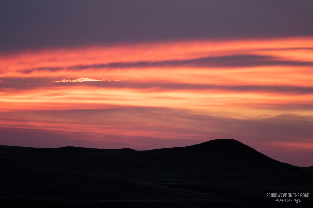 Sunset in the Grasslands