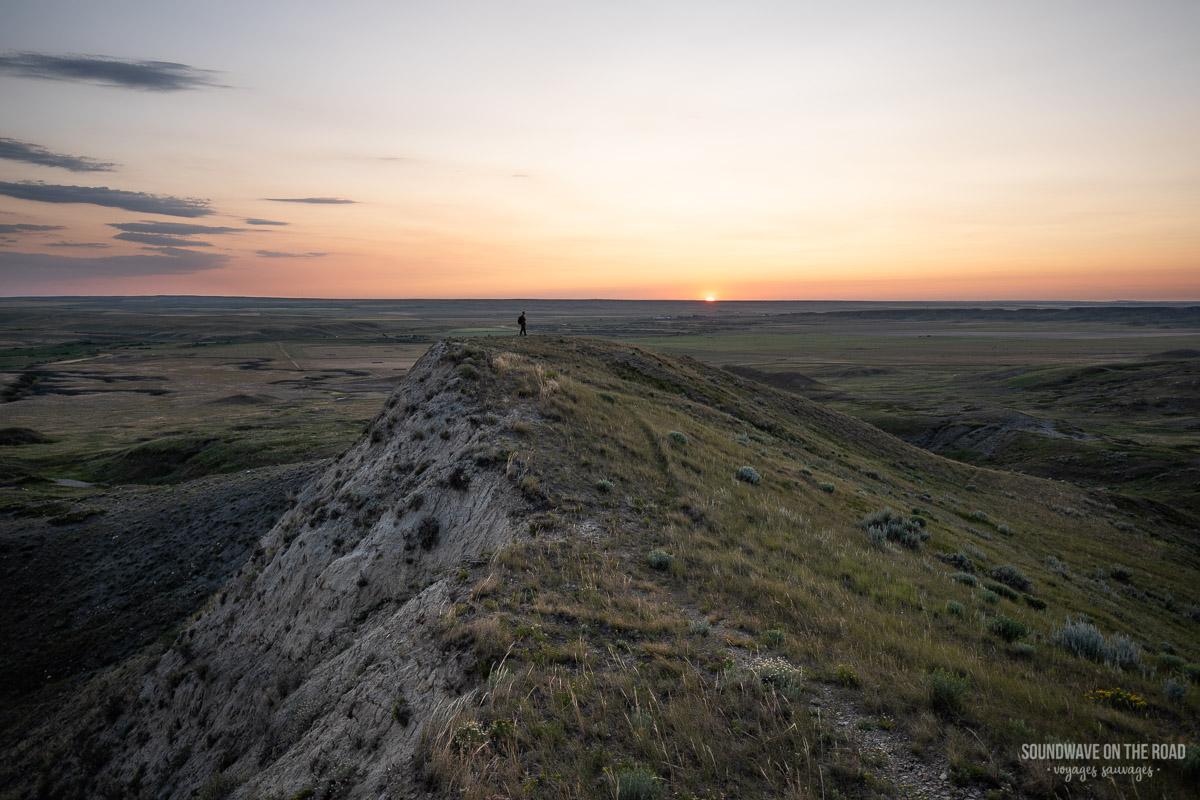 70 Mile Butte, Parc National des Prairies