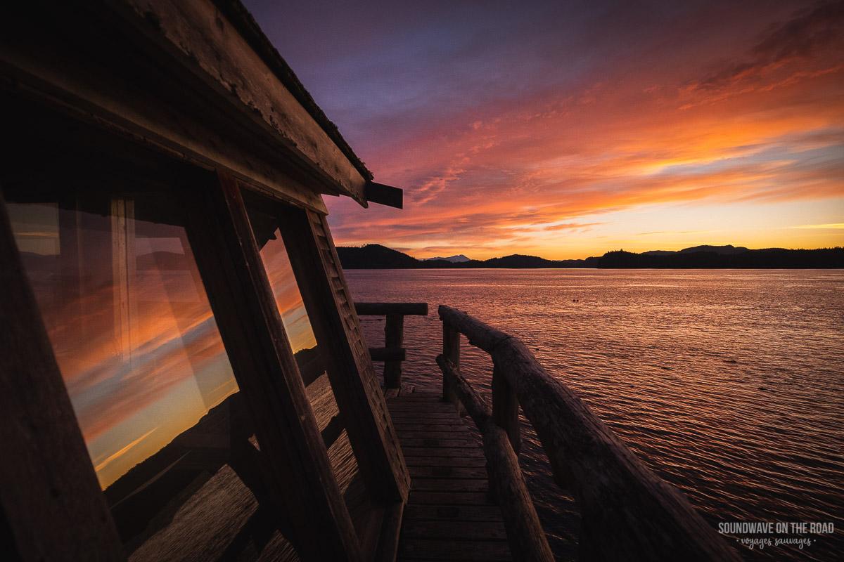 Sunrise at OrcaLab