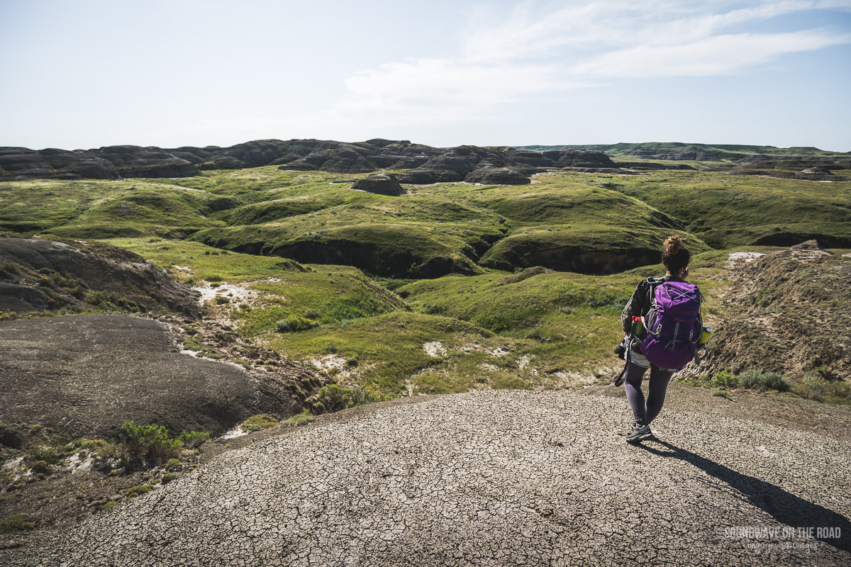 Randonnée dans le Parc National des Prairies au Canada