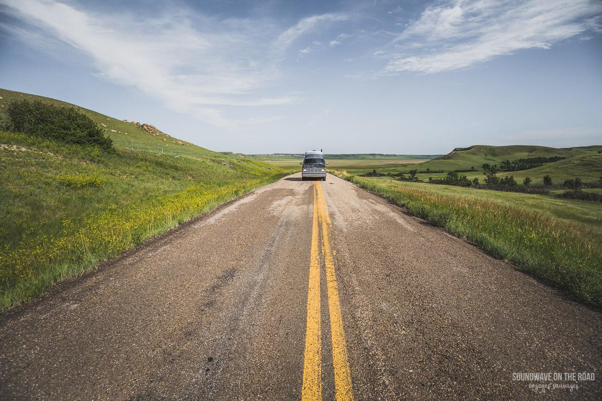 Roadtrip en Saskatchewan