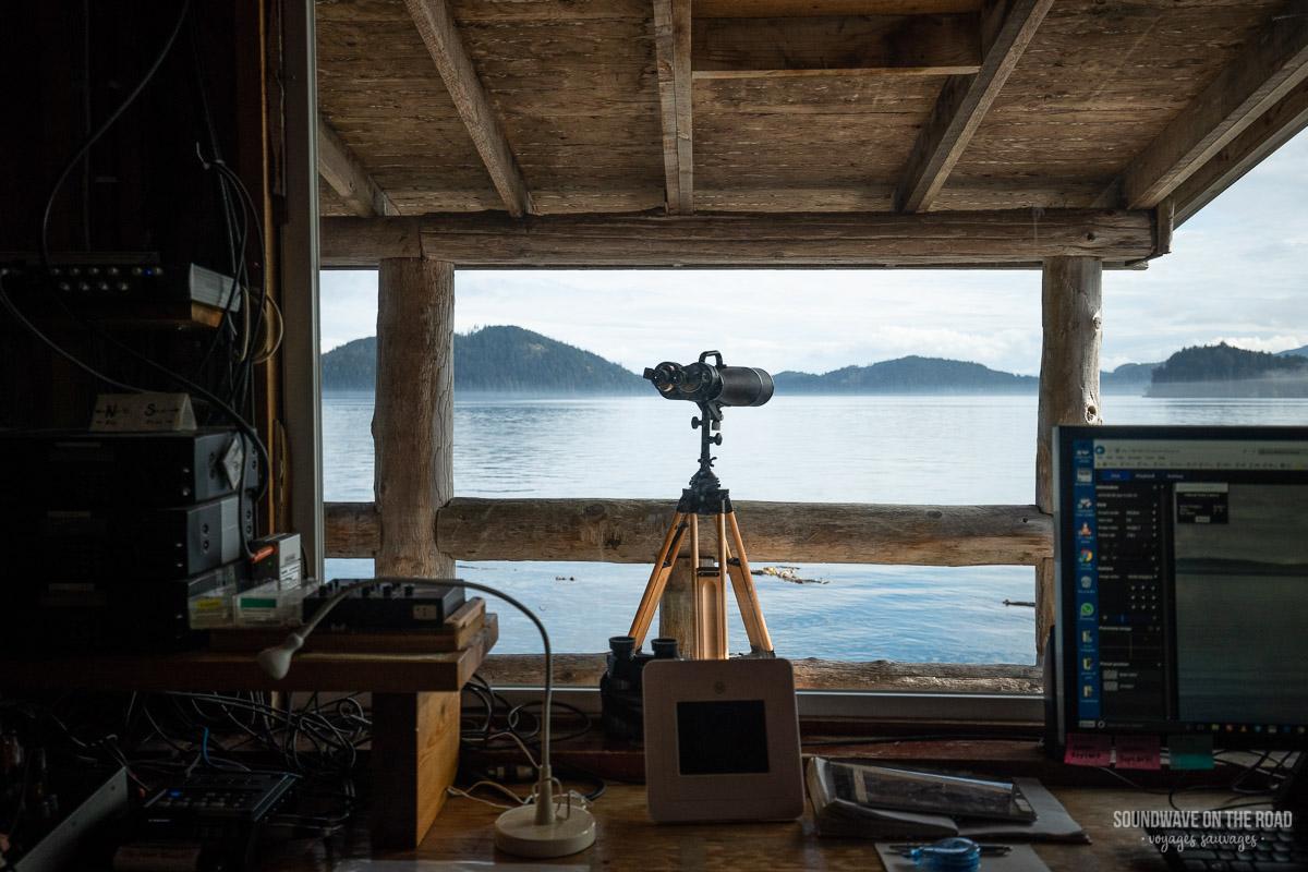 OrcaLab - Station de recherche sur les cétacés
